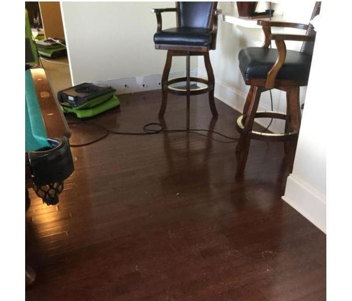 Apartment Water Damage After