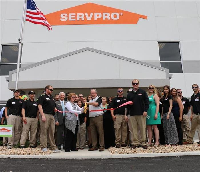 New Office Ribbon Cutting